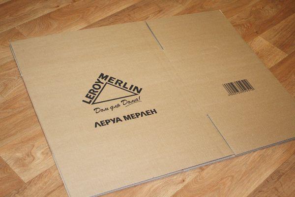 Купить картонные коробки в леруа мерлен москва